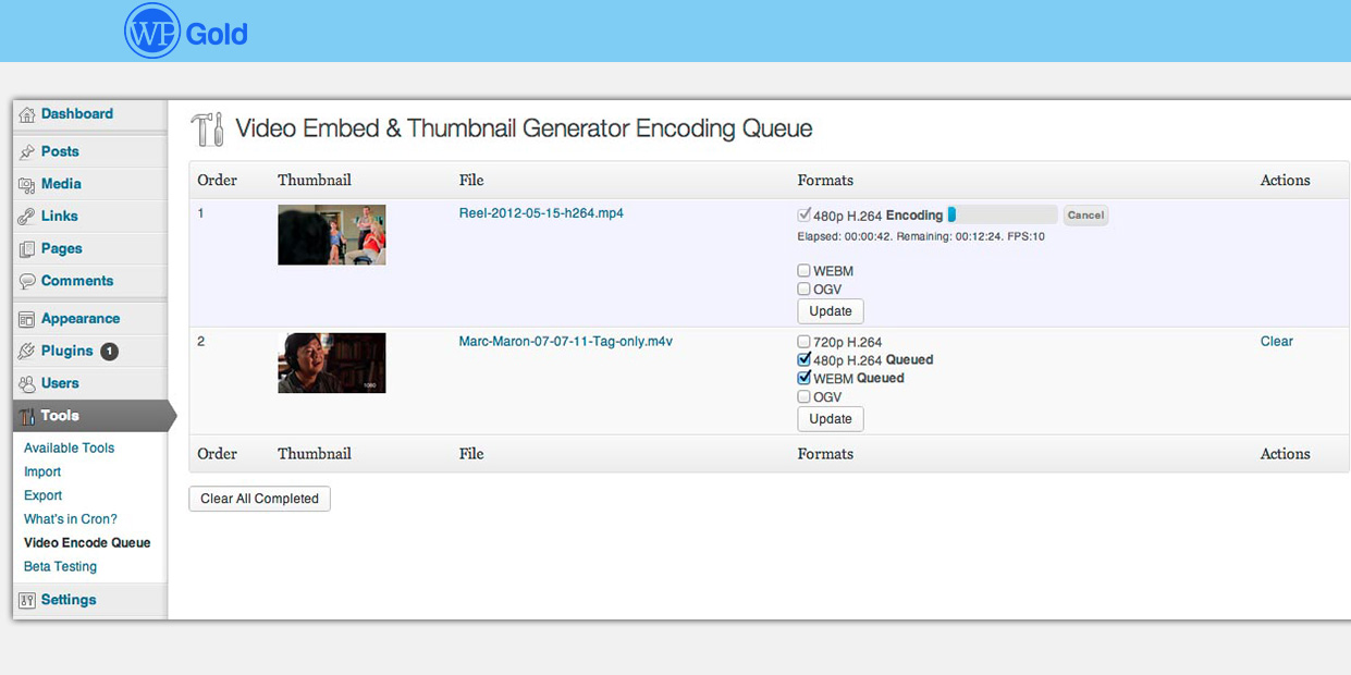 Video Embed & Thumbnail Generator