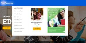 wp education тема для создания учебных сайтов