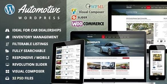 сайт компании на ВордПресс