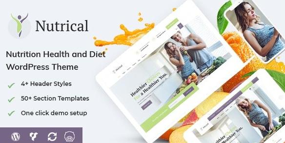 сайт ВордПресс о правильном питании