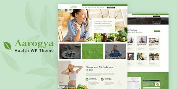 сайт ВордПресс о здоровом образе жизни