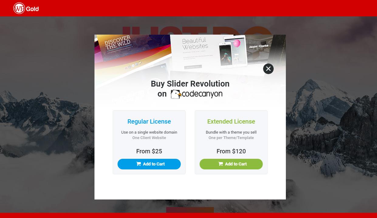 Сколько стоит премиальный плагин Slider Revolution?