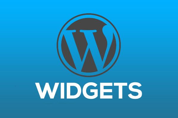 установка и настройка виджетов wordpress