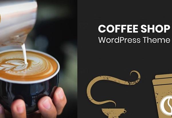 обзор wordpress темы coffee shop