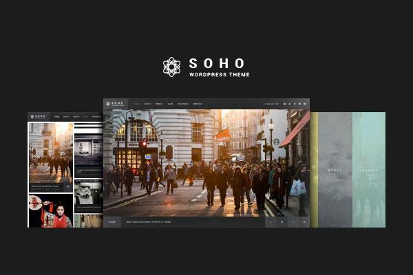 обзор wordpress темы soho