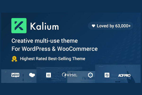 обзор wordpress шаблона kalium