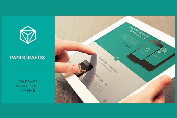 обзор wordpress шаблона pandora box