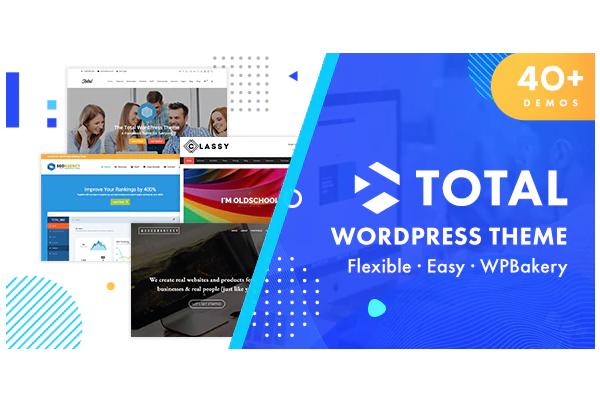 обзор wordpress шаблона total