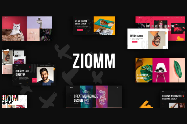 обзор wordpress темы ziomm