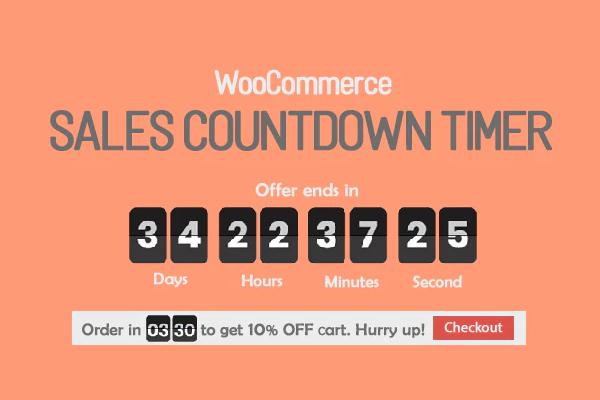обзор wordpress плагина checkout countdown