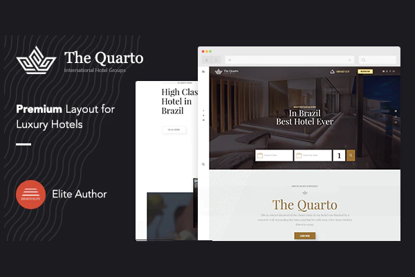 обзор wordpress темы quarto