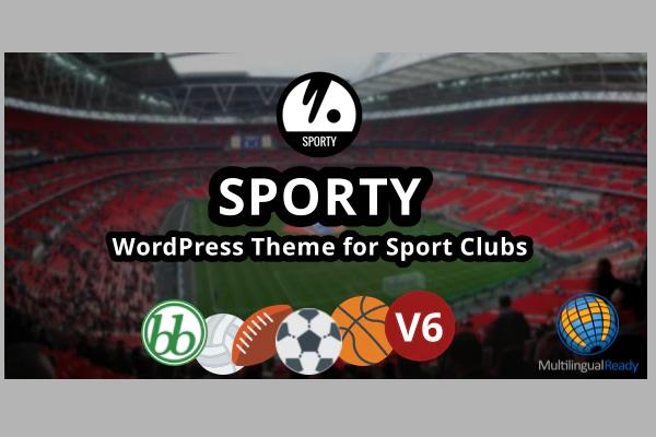 Sporty - топовая WordPress тема для спортивного клуба