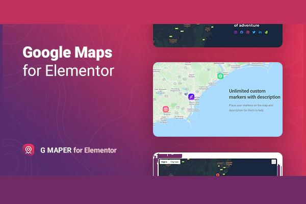 Плагин GMaper - топовые Googler-карты за 10$