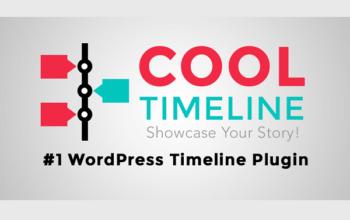 Плагин Cool Timeline Pro - ваша история в этапах