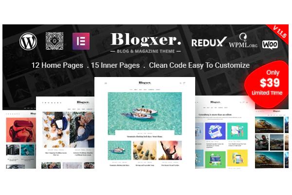 wordpress тема для блога и магазина