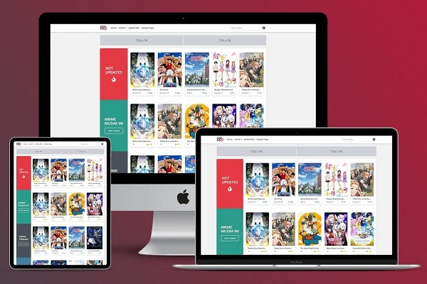 Kamisaha - WordPress тема для аниме с лучшим хёука