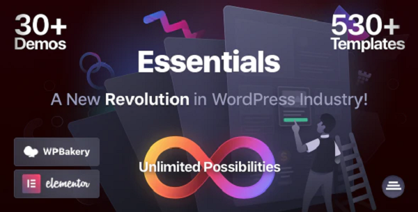 обзор темы wordpress essentials